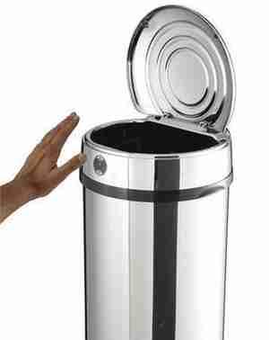 Poubelle automatique avec poubelle - Poubelle rectangulaire automatique ...